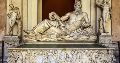 Vatikanische Museen - Statue