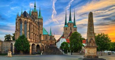 Erfurt - Blick auf den Dom