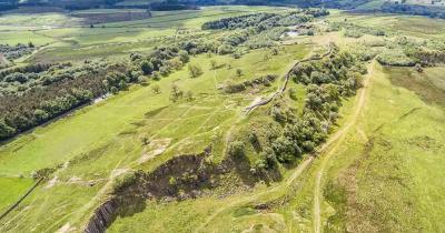 Hadrianswall - Luftaufnahme
