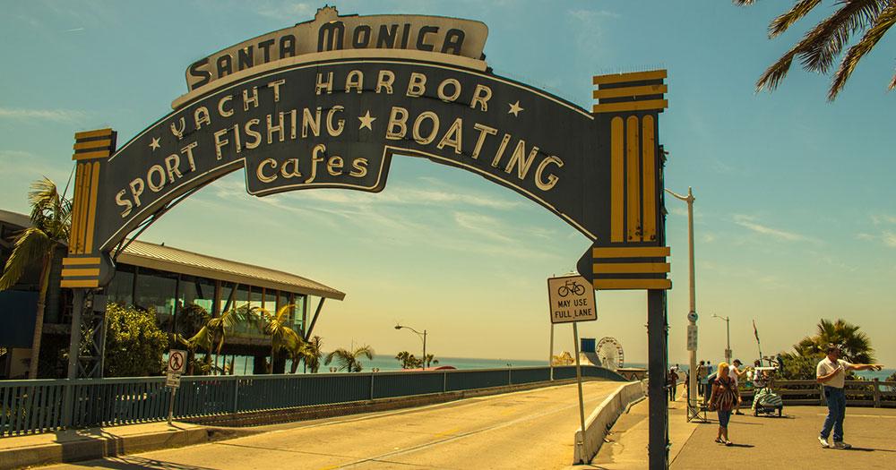 Los Angeles - Santa Monica Pier von Los Angeles