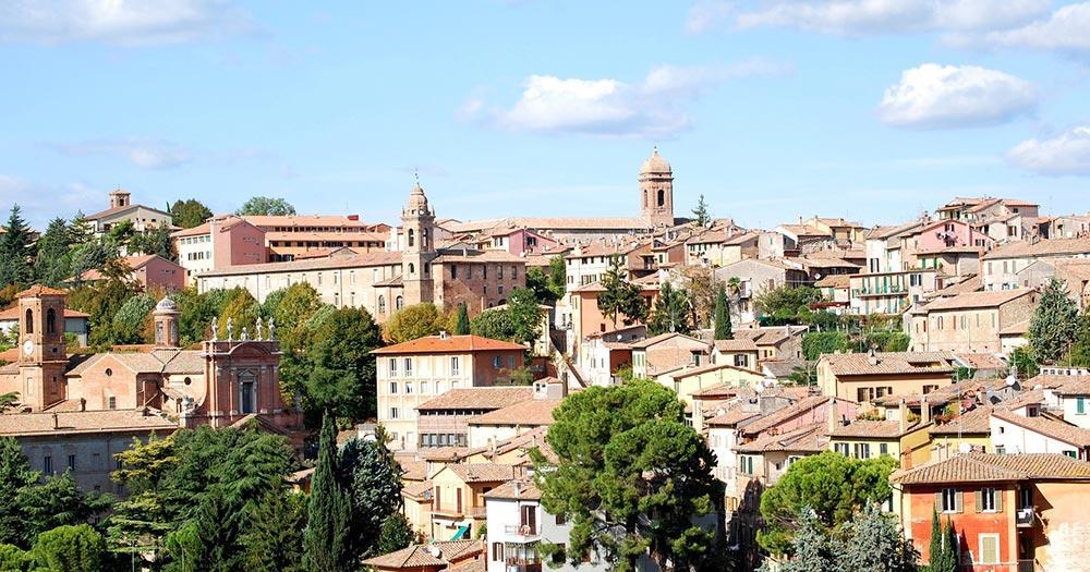 Perugia - Blick auf die Stadt