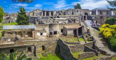 Pompeji - Panoramablick
