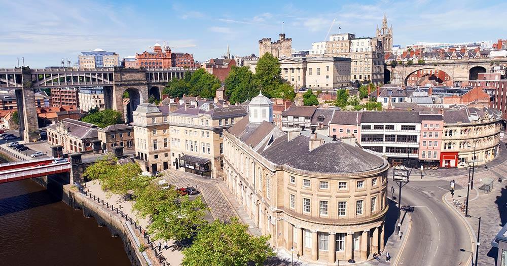 Newcastle upon Tyne - Quayside