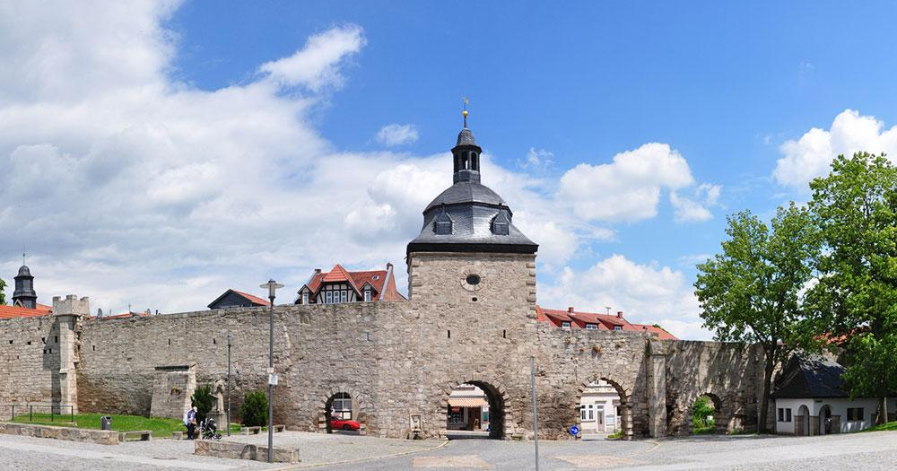 Mühlhausen - Stadtmauer