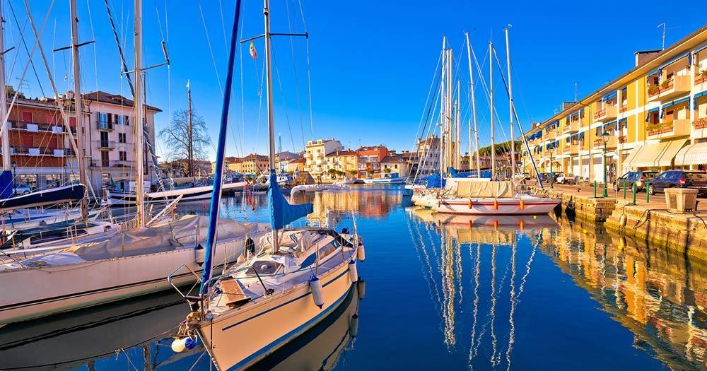 Grado - Hafeneinfahrt