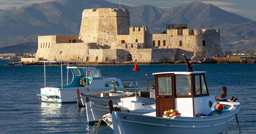 Peloponnes - Festungsinsel Nafplion