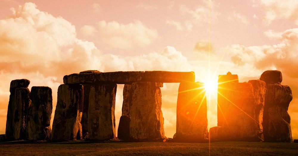 Stonehenge - im Sonnenlicht