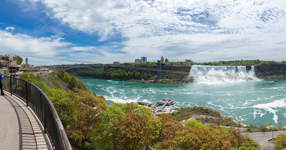Niagarafälle - Panoramablick