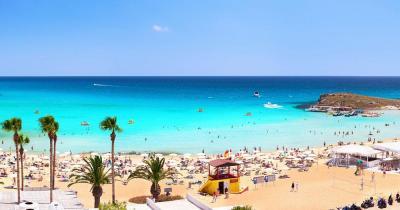 Nissi Beach - Panoramablick