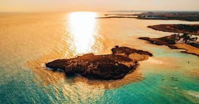 Nissi Beach - Luftaufnahme