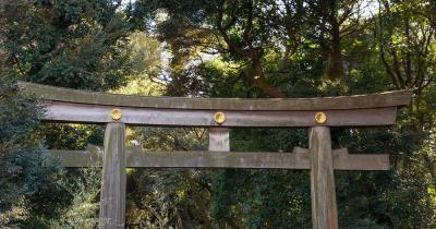 Meiji-Schrein - Eingang