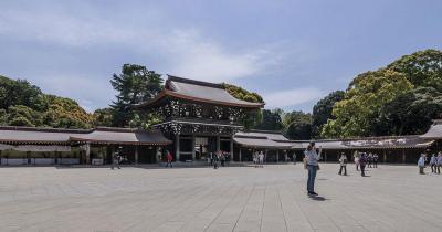 Meiji-Schrein - Panoramablick