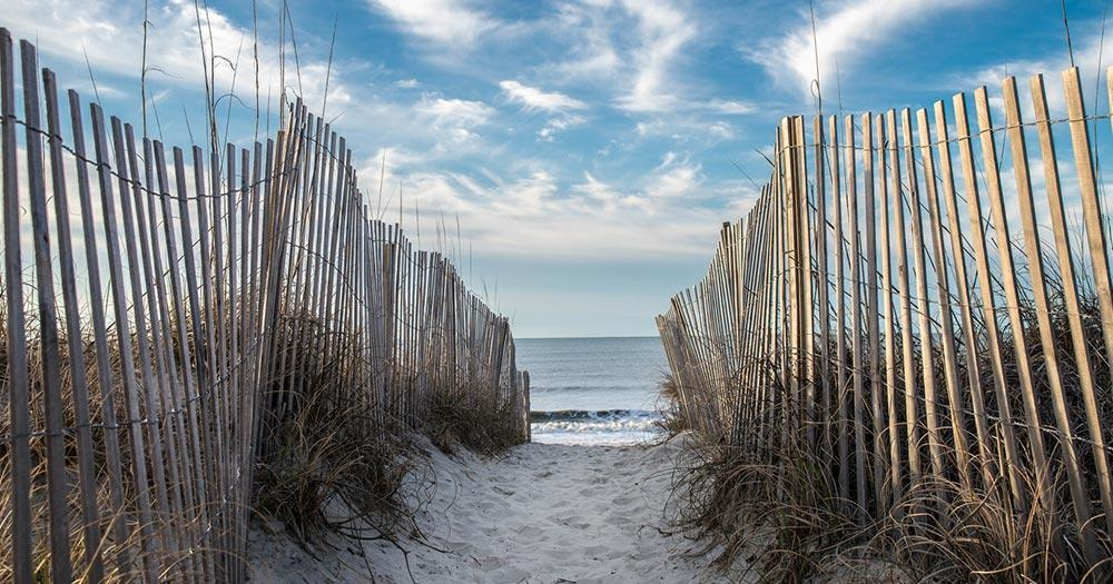 Myrtle Beach - Strandzugang