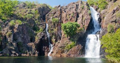 Darwin - Wangi Falls von Darwin