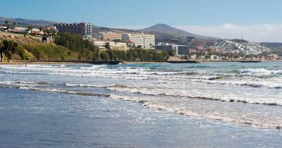 Playa del Inglés - Strandpanorama