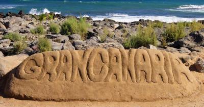 Playa del Inglés - Sandskulptur