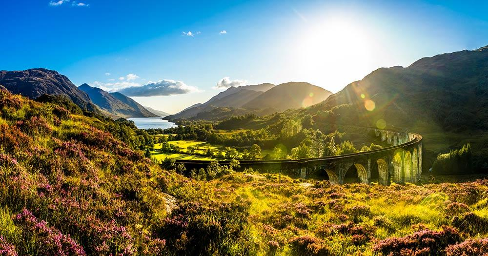 Isle of Skye - Glenfinnan Viaduct