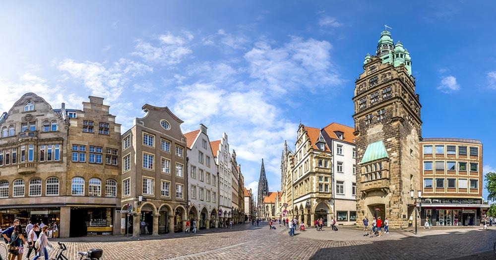 Münster -Prinzipalmarkt