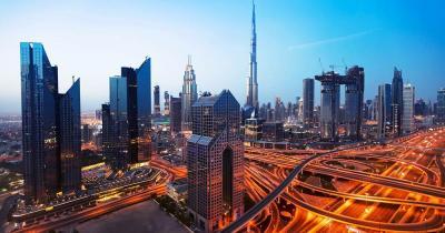 IMG Worlds of Adventure - Skyline von Dubai