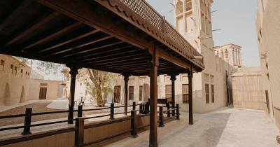 Al Fahidi District - Altstadt Bauten