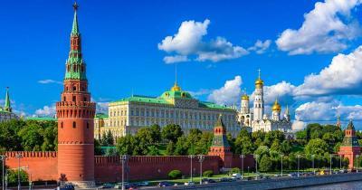 Moskauer Kreml - am Moskau Fluss