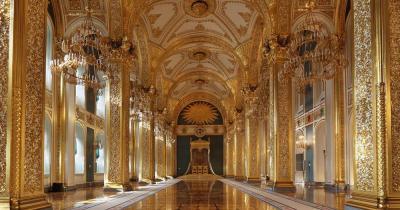 Moskauer Kreml - Palast von innen