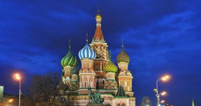 Basilius Kathedrale - bei Nacht