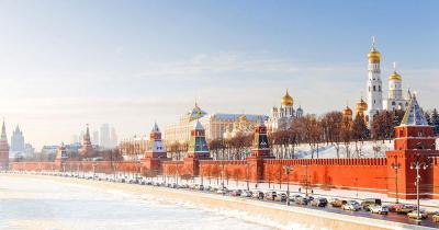 Roter Platz - Winter Panorama