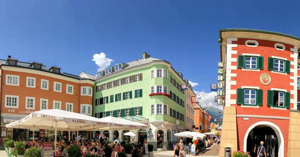 Lienz - sonniger Platz