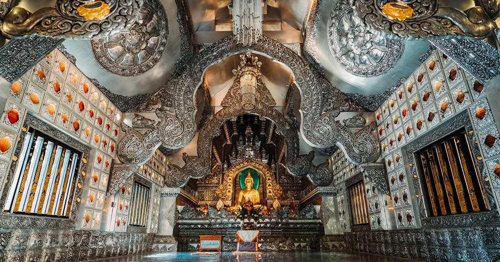 Chiang Mai - Silbertempel