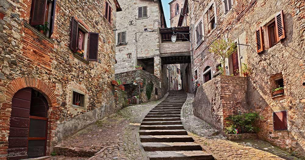 Arezzo - mittelalterliche Altstadt