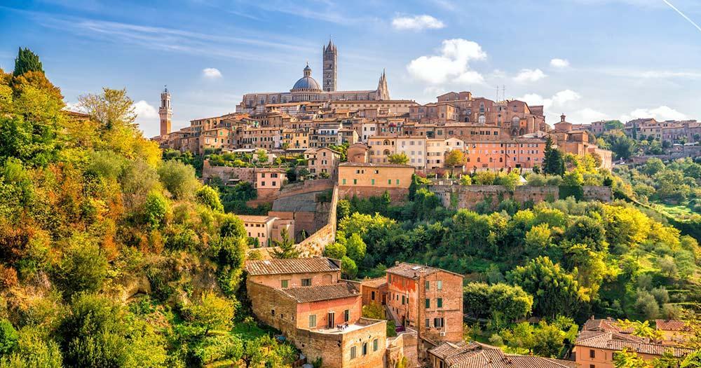 Siena - Skyline der Stadt