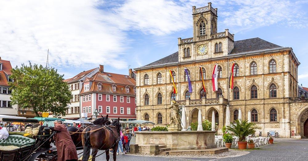 Weimar - Rathaus