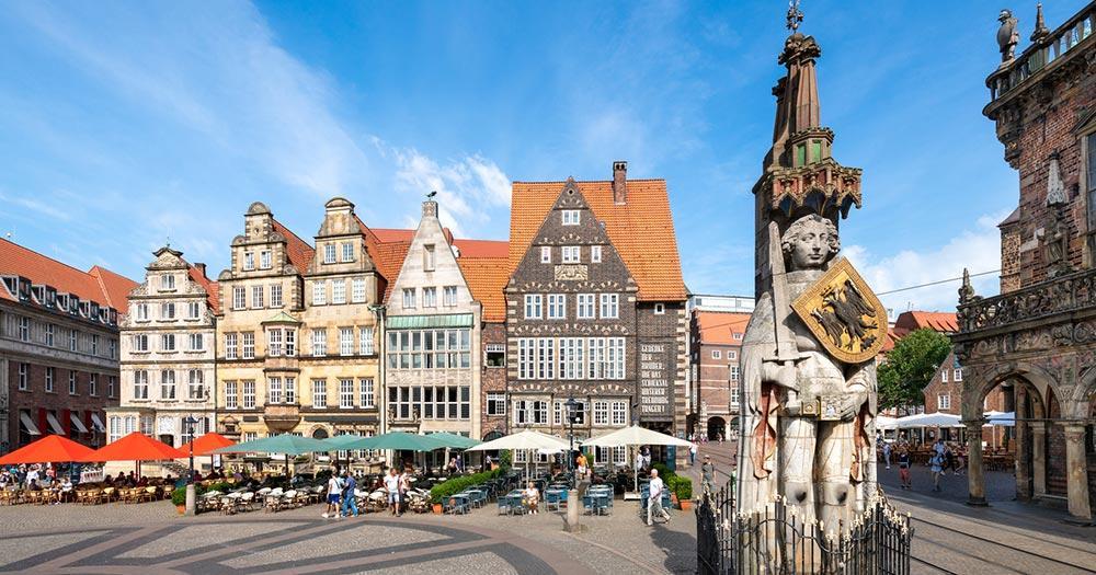 Bremen - historischer Marktplatz
