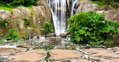The Huntington - Wasserfall