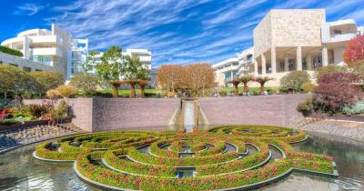 Getty Center - Central Garden