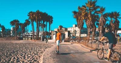 Venice Beach - Strandpromenade