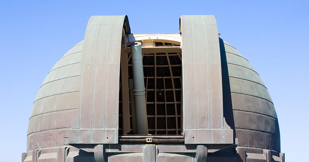 Griffith-Observatorium - Kuppel