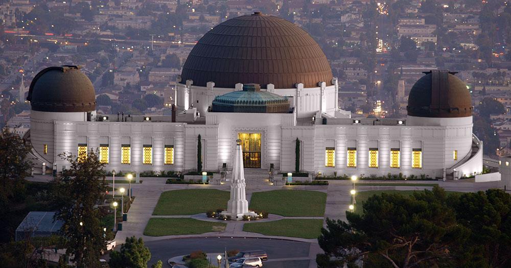 Griffith-Observatorium - Frontansicht