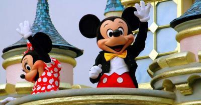 Disneyland - Mickey und Mini Maus