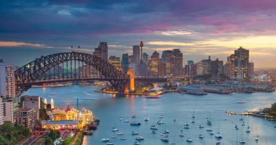Sydney Harbour Bridge - Brücke mit Bucht