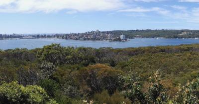 Sydney-Harbour-Nationalpark - Panoramablick