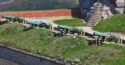 Militärhistorisches Museum Dresden - Historische Kanonen