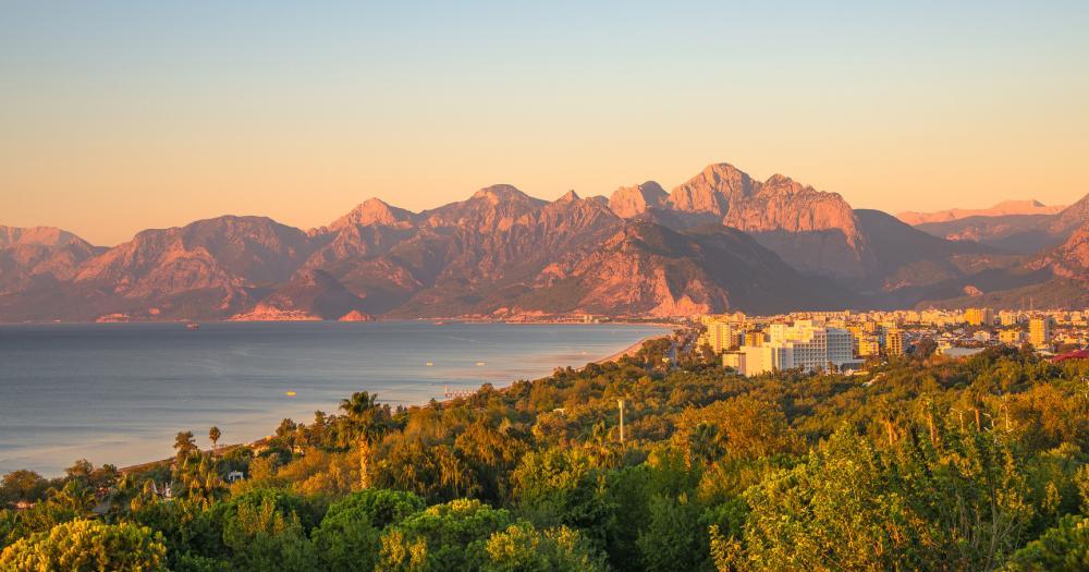 Antalya - Blick auf die Landschaft