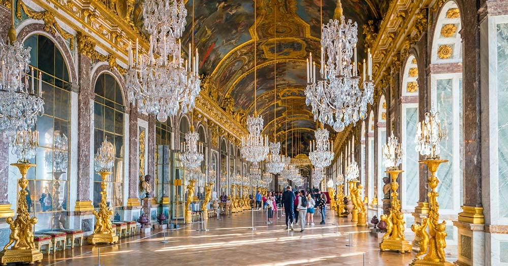 Versailles - die Halle der Spiegel