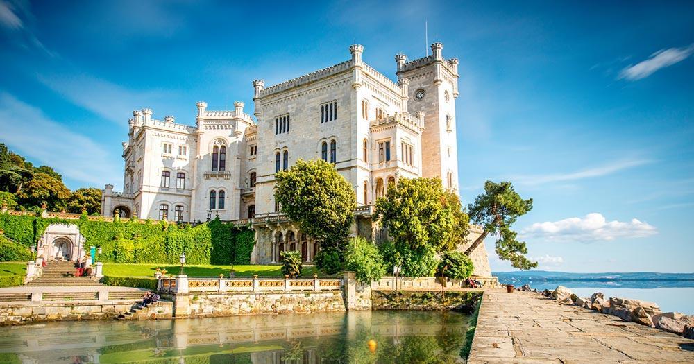 Triest - Burg Miramare
