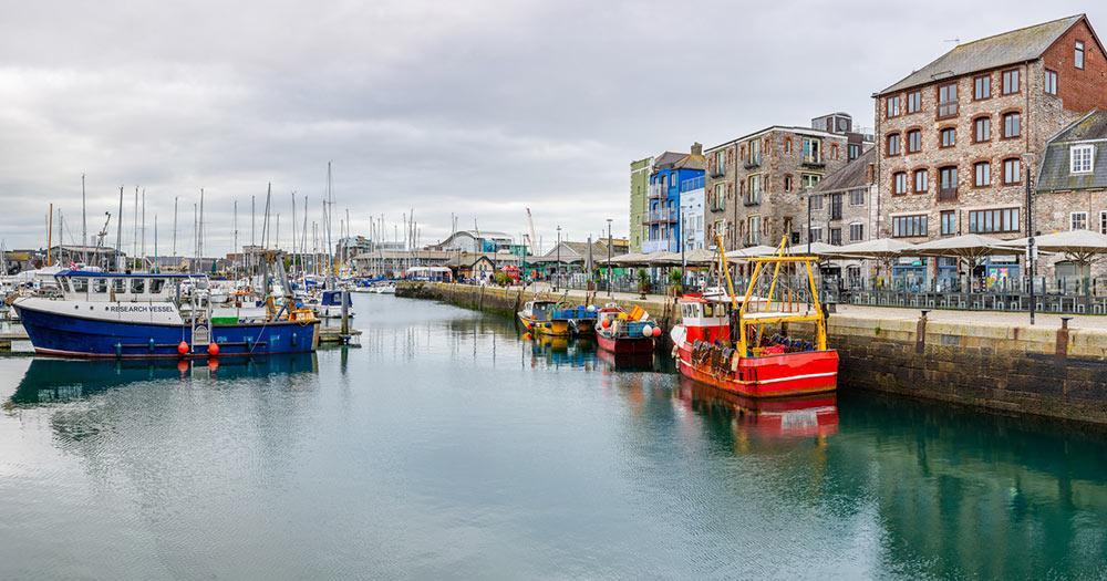 Plymouth - Hafen Barbican