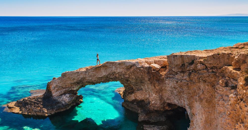 Zypern - Blick auf die Landschaft
