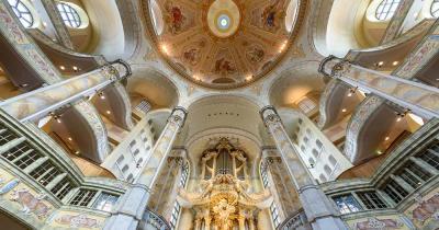 Frauenkirche Dresden - Innenansicht