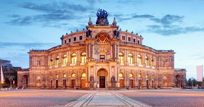Semperoper Dresden - Frontaufnahme